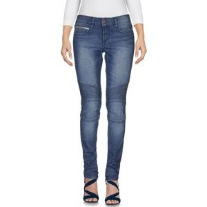 NEW Rockstar Moto Zip Jeans - 25